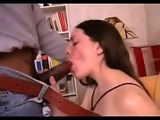 Amteur French Wife try BBC