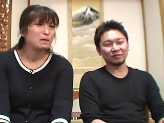 47yr old Wife Hinobu Nakajima Cuckolds Hubby (Uncensored)