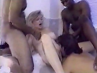 BATHTUB GANGBANG FOR CUCKHOLD WIFE