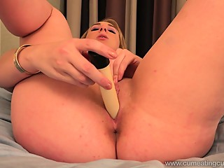 Hot Blonde Stuffed By Black Cock and Has Husband Eat Cum