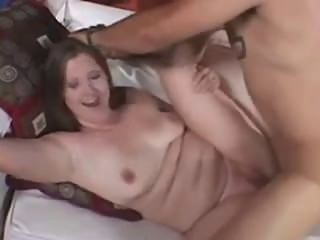 Cute BBW Gets Fucked by Thick Dick in Front of Her Husband