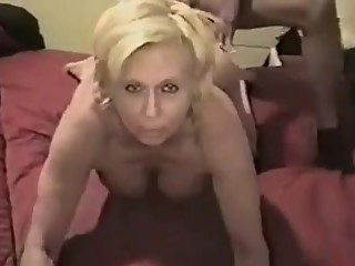 Mature fucked by bbc when she is alone at home
